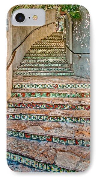 San Antonio Riverwalk Stairway IPhone Case