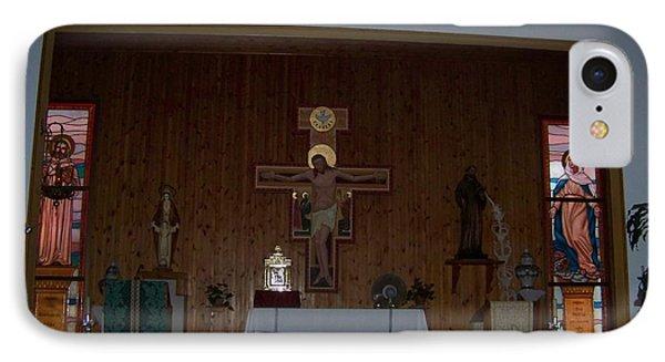 San Bernardo Abad,la Virgen Milagrosa IPhone Case