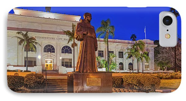 IPhone Case featuring the photograph San Buenaventura City Hall by Susan Candelario