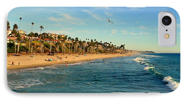 IPhone Case featuring the photograph San Clemente Coastline - California by Glenn McCarthy Art and Photography