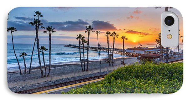 San Clemente IPhone Case by Peter Tellone