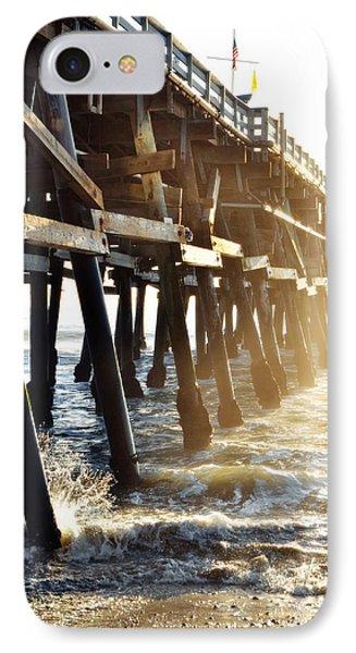 IPhone Case featuring the photograph San Clemente Pier Magic Hour by Kyle Hanson