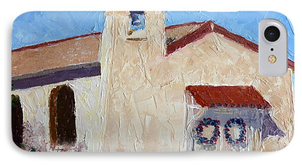 San Cosme Chapel IPhone Case by Susan Woodward
