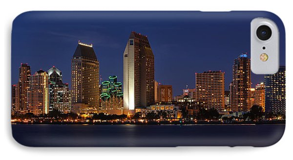 San Diego America's Finest City IPhone Case by Larry Marshall