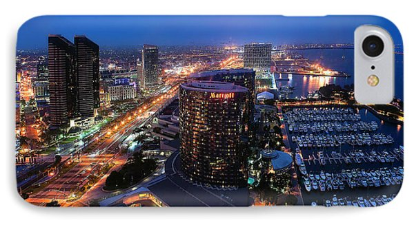 San Diego Bay IPhone Case
