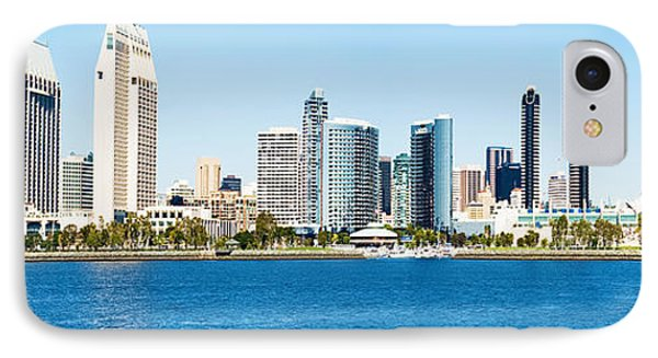 San Diego Cityscape Panorama IPhone Case