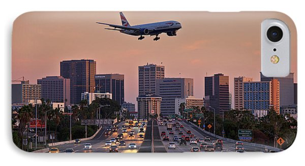 San Diego Rush Hour  IPhone Case by Sam Antonio Photography