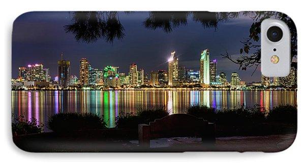 IPhone Case featuring the photograph San Diego Skyline by Eddie Yerkish