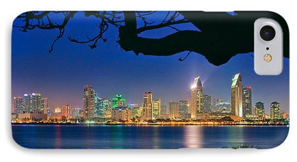 San Diego Skyline From Bay View Park In Coronado IPhone Case