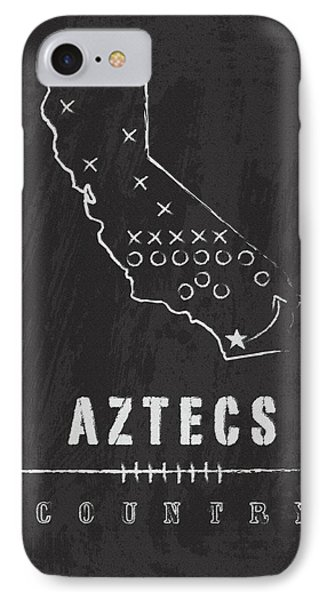 San Diego State Aztecs Country IPhone Case
