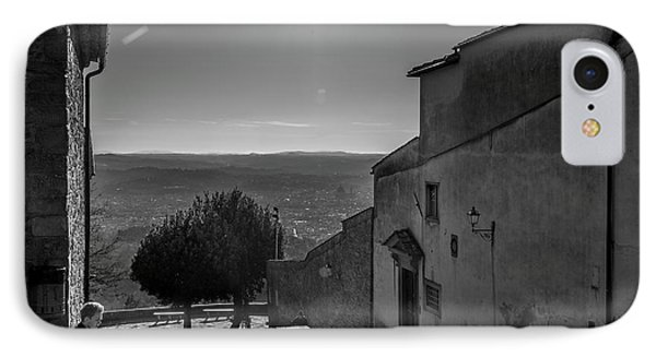 San Francesco Monastery - Fiesole, Italia. IPhone Case