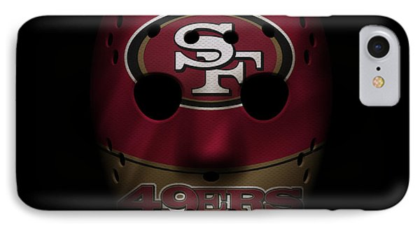 San Francisco 49ers War Mask IPhone Case by Joe Hamilton