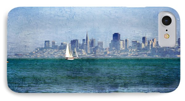 San Francisco Bay IPhone Case by Serena King