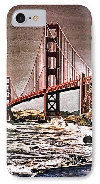 San Francisco Bridge View Phone Case by Dennis Cox WorldViews