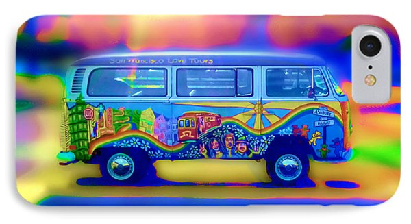 San Francisco Bus IPhone Case by Natalia Shcherbakova