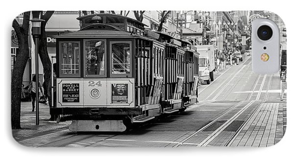 IPhone Case featuring the photograph San Francisco Cable Cars by Eddie Yerkish