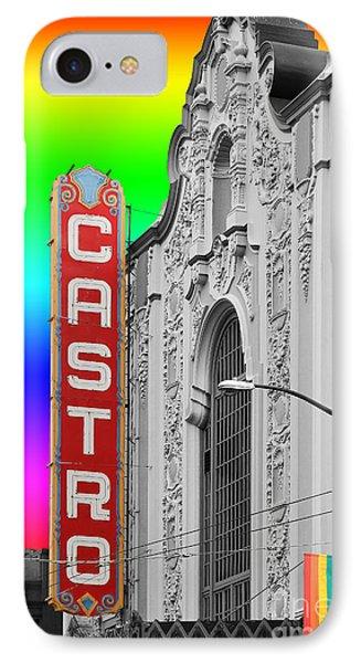 San Francisco Castro Theater . 7d7579 IPhone Case