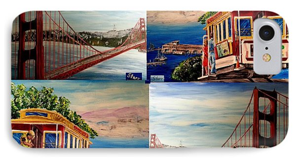 San Francisco Charm IPhone Case by Irving Starr