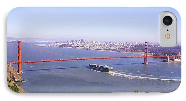 IPhone Case featuring the photograph San Francisco - City By The Bay by Art Block Collections