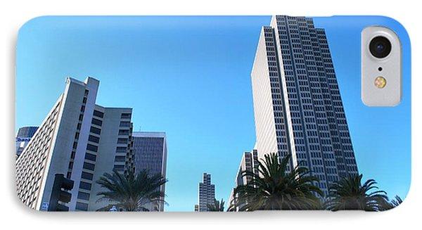 San Francisco Embarcadero Center IPhone Case by Matt Harang