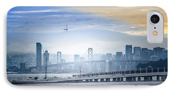 San Francisco Fog IPhone Case by Ajay Tewarie