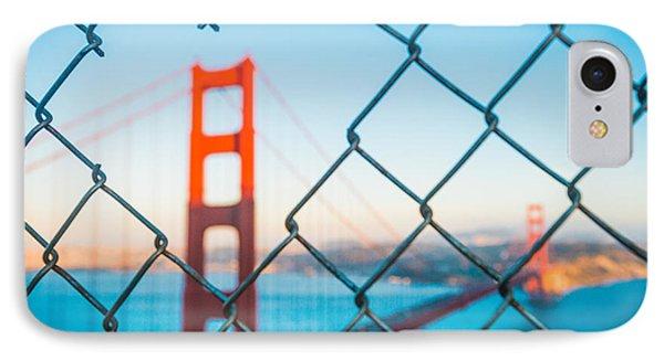 San Francisco Golden Gate Bridge IPhone 7 Case by Cory Dewald