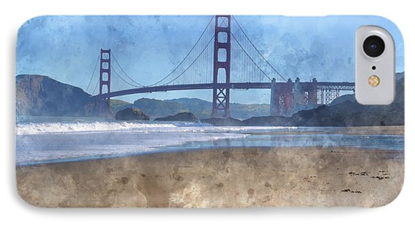 San Francisco Golden Gate Bridge In California IPhone Case