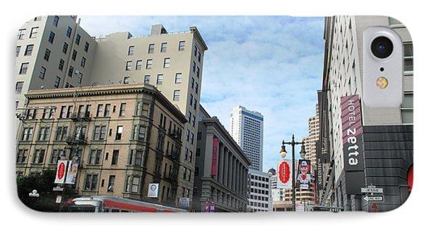 San Francisco - Jessie Street View IPhone Case by Matt Harang