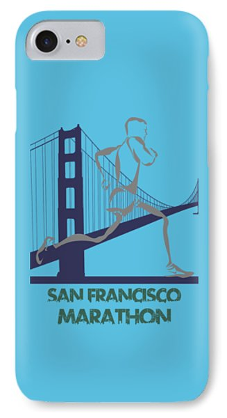 San Francisco Marathon2 IPhone Case by Joe Hamilton