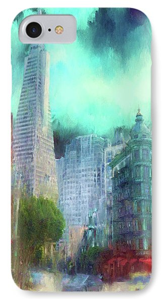 San Francisco IPhone Case by Michael Cleere