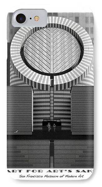 San Francisco Museum Of Modern Art Phone Case by Mike McGlothlen