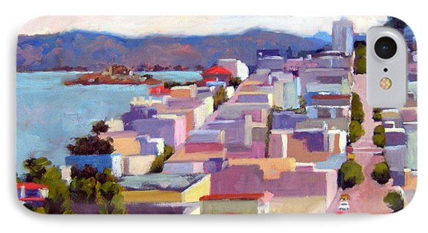 San Francisco No 6 IPhone Case by Deborah Cushman