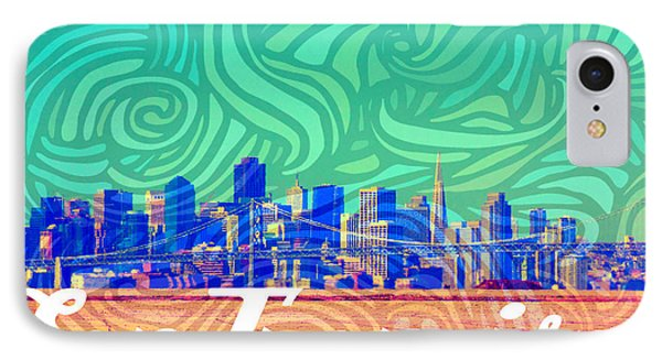San Francisco Postales IPhone Case