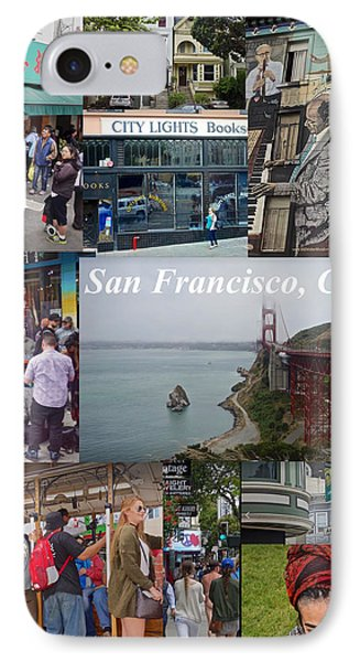 IPhone Case featuring the photograph San Francisco Poster by Joan Reese