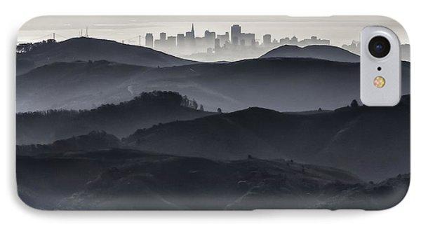 San Francisco Seen From Mt. Tamalpais IPhone Case
