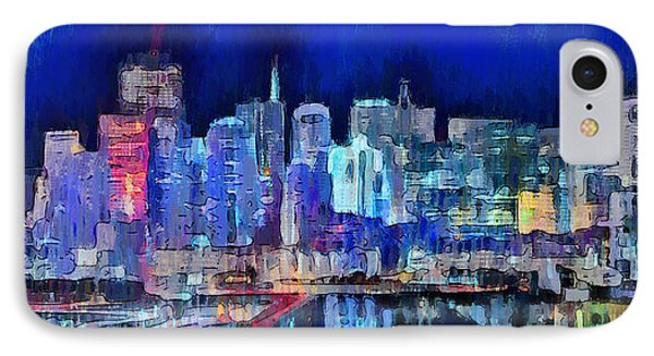 San Francisco Skyline 100 - Da IPhone Case