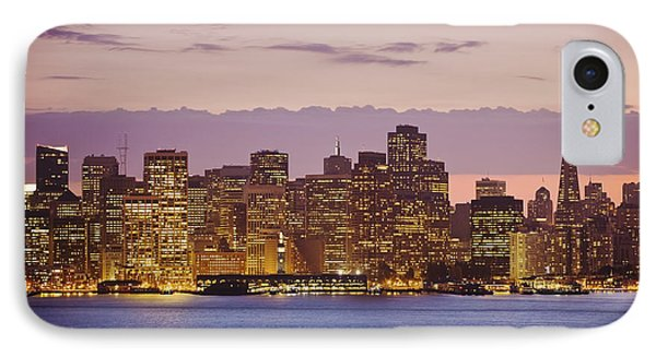San Francisco Skyline Phone Case by Bryan Mullennix