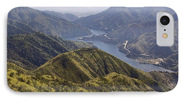 San Gabriel Canyon Reservoir IPhone Case