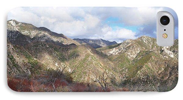 San Gabriel Mountains National Monument IPhone Case by Kyle Hanson