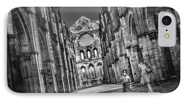 San Galgano - Tuscany IPhone Case by Luca Lorenzelli
