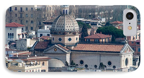 San Gioacchino In Prati Phone Case by Andy Smy