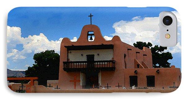 San Ildefonso Pueblo Phone Case by David Lee Thompson