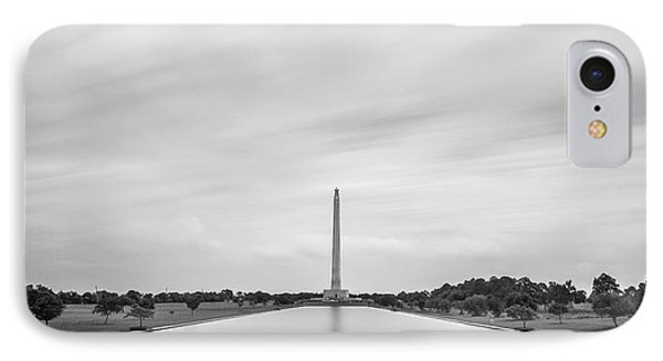 San Jacinto Monument Long Exposure IPhone Case