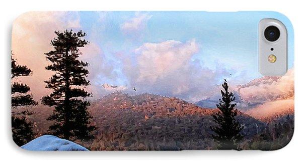 San Jacinto Mountains - California Phone Case by Glenn McCarthy Art and Photography