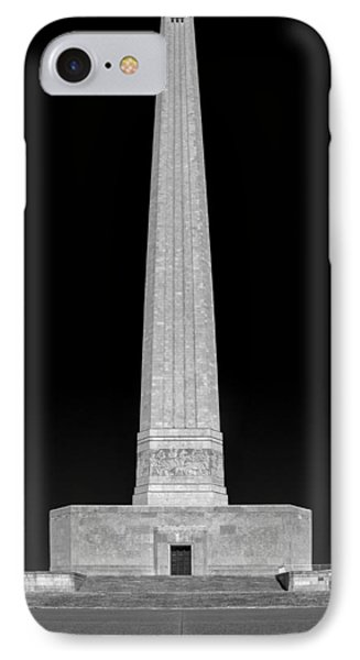 IPhone Case featuring the photograph San Jacinto Star Black And White by Joshua House