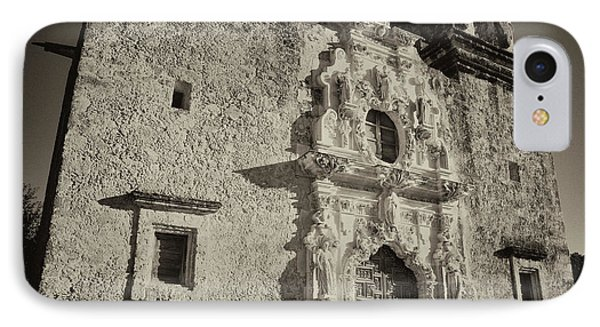 IPhone Case featuring the photograph San Jose Mission - San Antonio by Stephen Stookey
