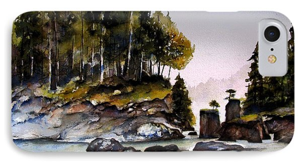 IPhone Case featuring the painting San Josef Bay by Marti Green