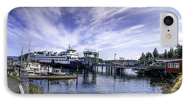 San Juan Island Ferry IPhone Case