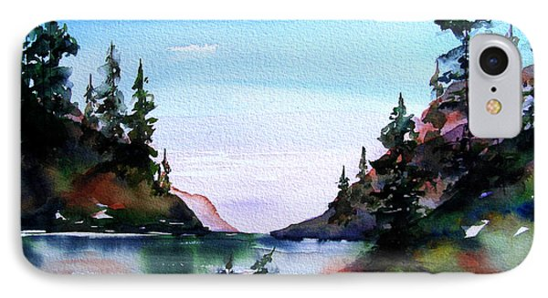 IPhone Case featuring the painting San Juan Island by Marti Green