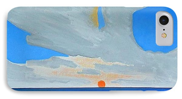 San Juan Sunrise Phone Case by Dick Sauer